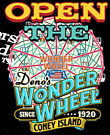 Open The Wonder Wheel
